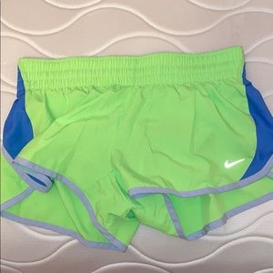 Nike Lime green shorts size M
